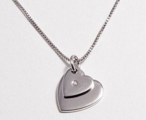 Heart jewellery for children
