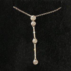 18ct-White-gold-diamond-drop-pendant-and-chain-