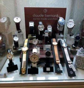 Claude-Bernard-watches - the ideal Christmas jewellery gift