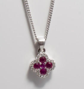 ruby-and-diamond-necklace - Black Friday Jewellery event