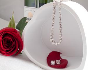 wedding day jewellery set